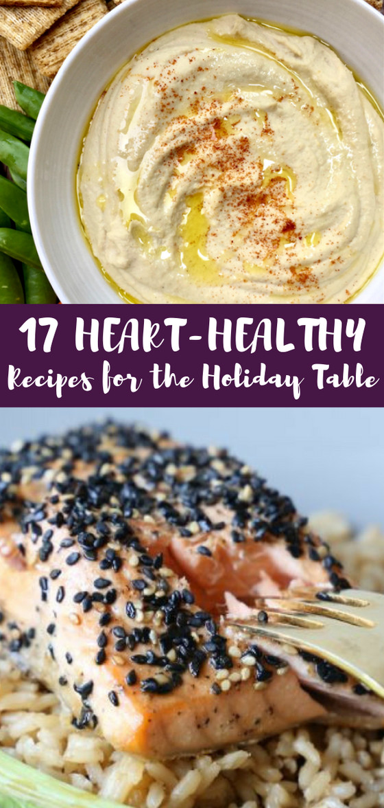 Heart Healthy Thanksgiving Recipes  17 Heart Healthy Recipes for the Holiday Table Amy Gorin