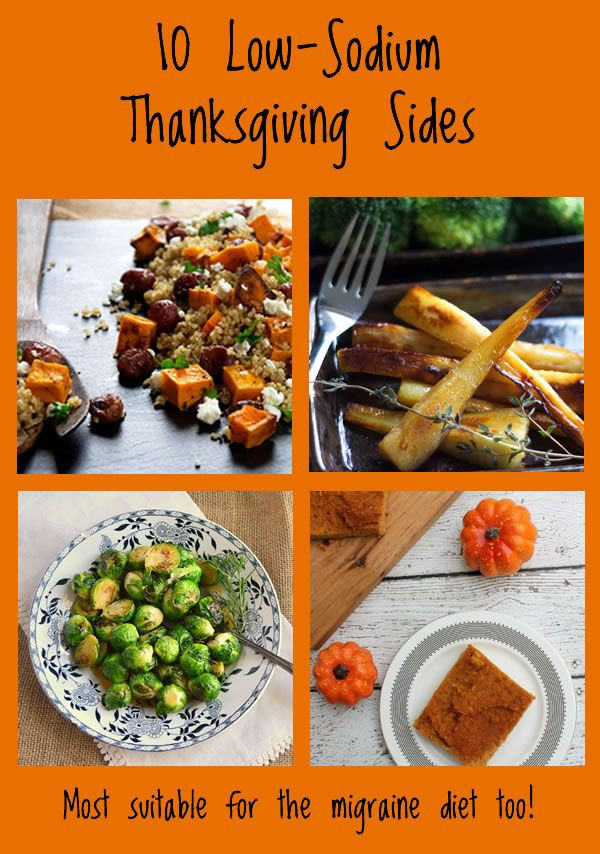 Heart Healthy Thanksgiving Recipes  10 Low sodium Thanksgiving recipes