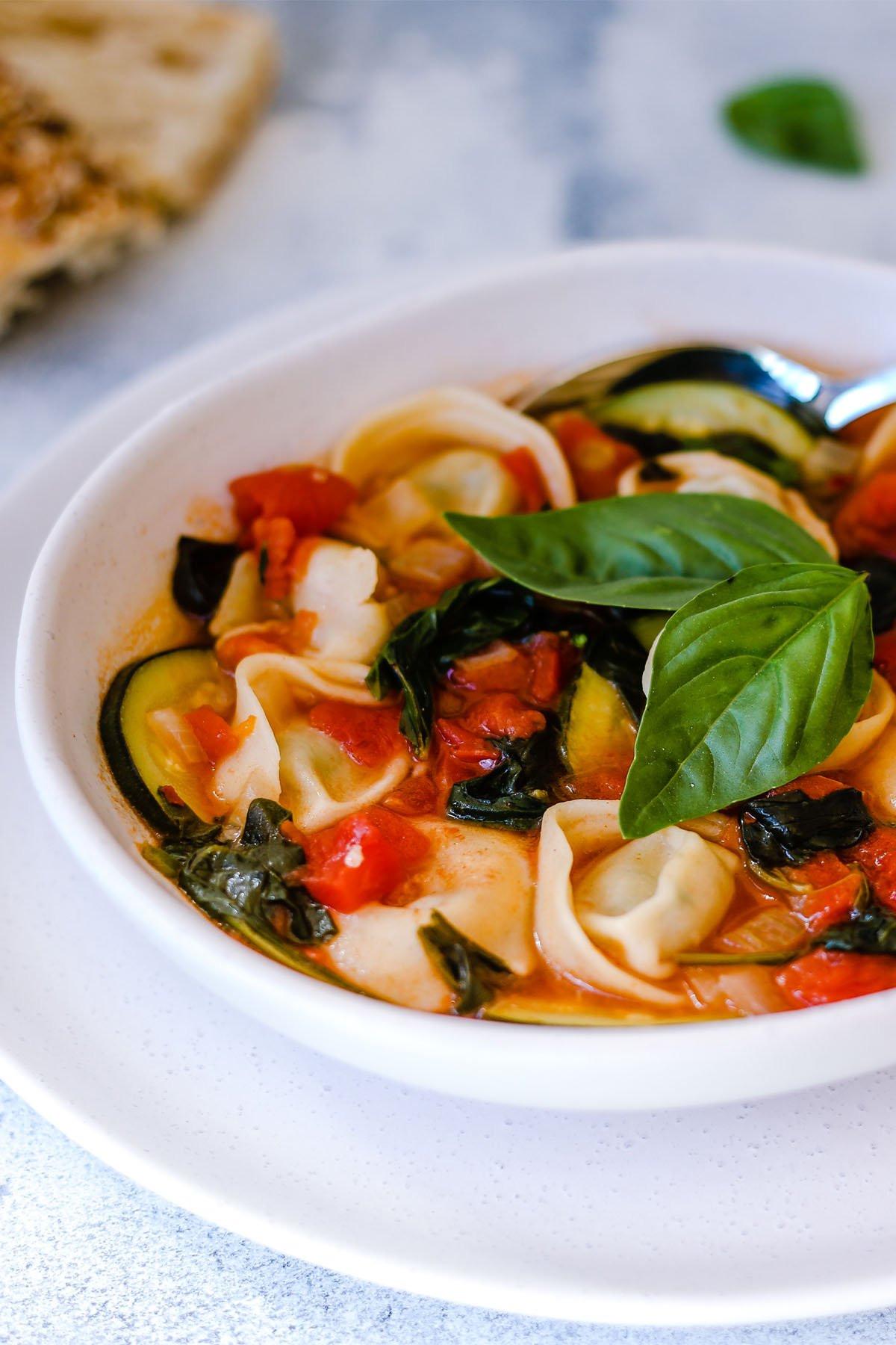 Hearty Healthy Soups  Hearty & Healthy Tortellini Soup