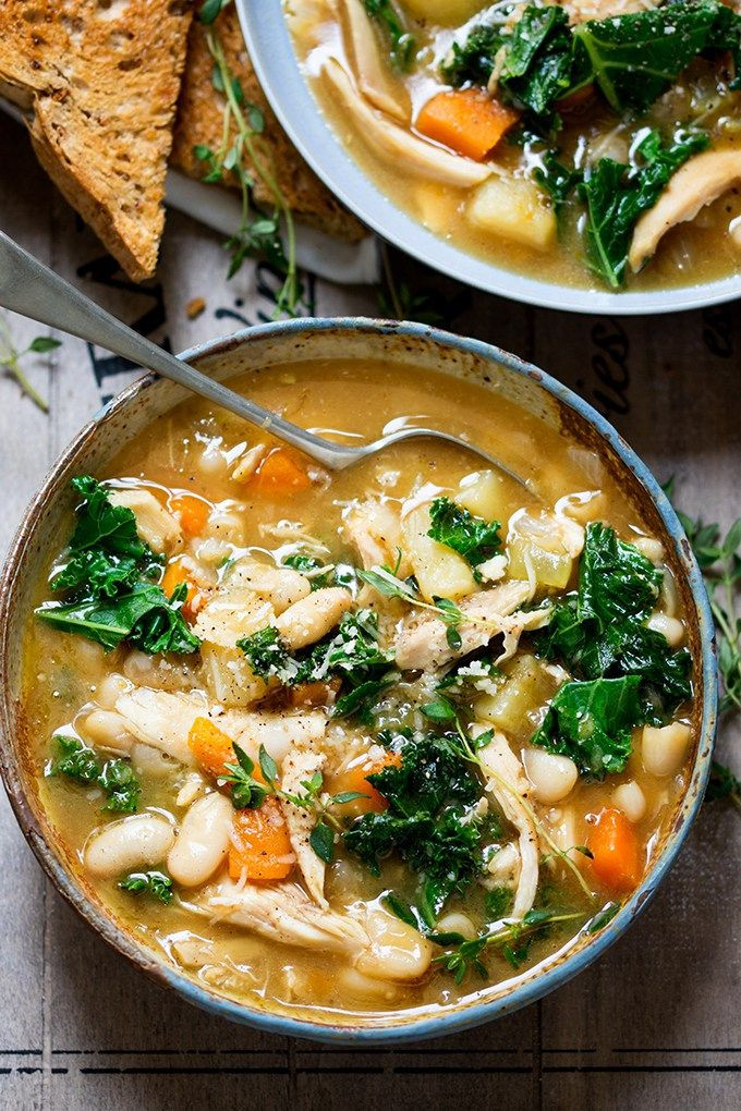 Hearty Healthy Soups  hearty tuscan soup recipe