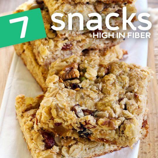 High Fiber Bars Recipes  7 High Fiber Snacks for Optimal Regularity