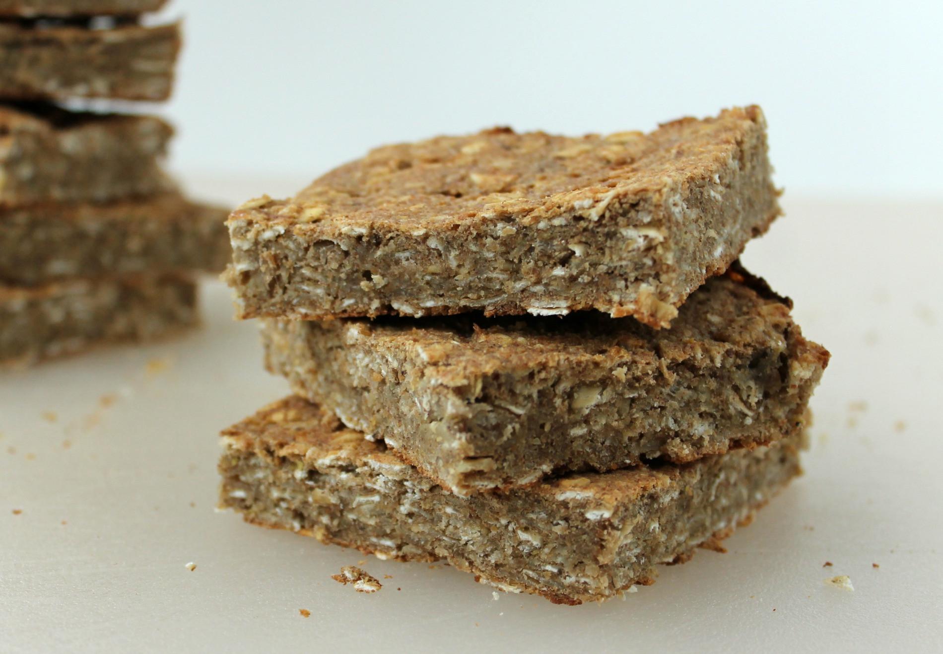 High Fiber Bars Recipes  high fiber breakfast bars