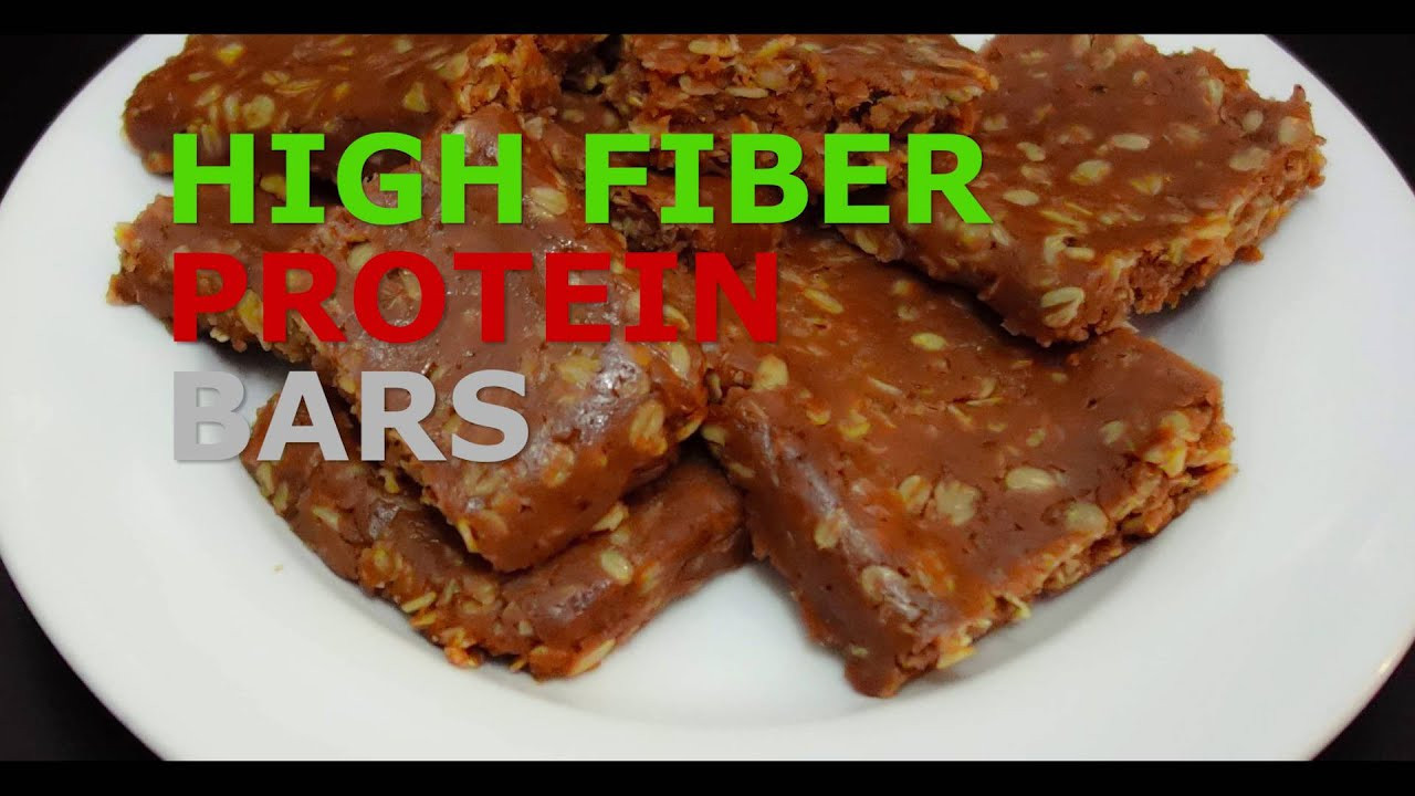 High Fiber Bars Recipes  High Fiber Protein Bars the best homemade recipe