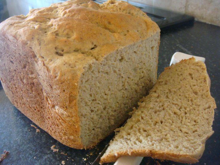 High Fiber Bread Machine Recipe  21 best images about Bread machine recipes on Pinterest