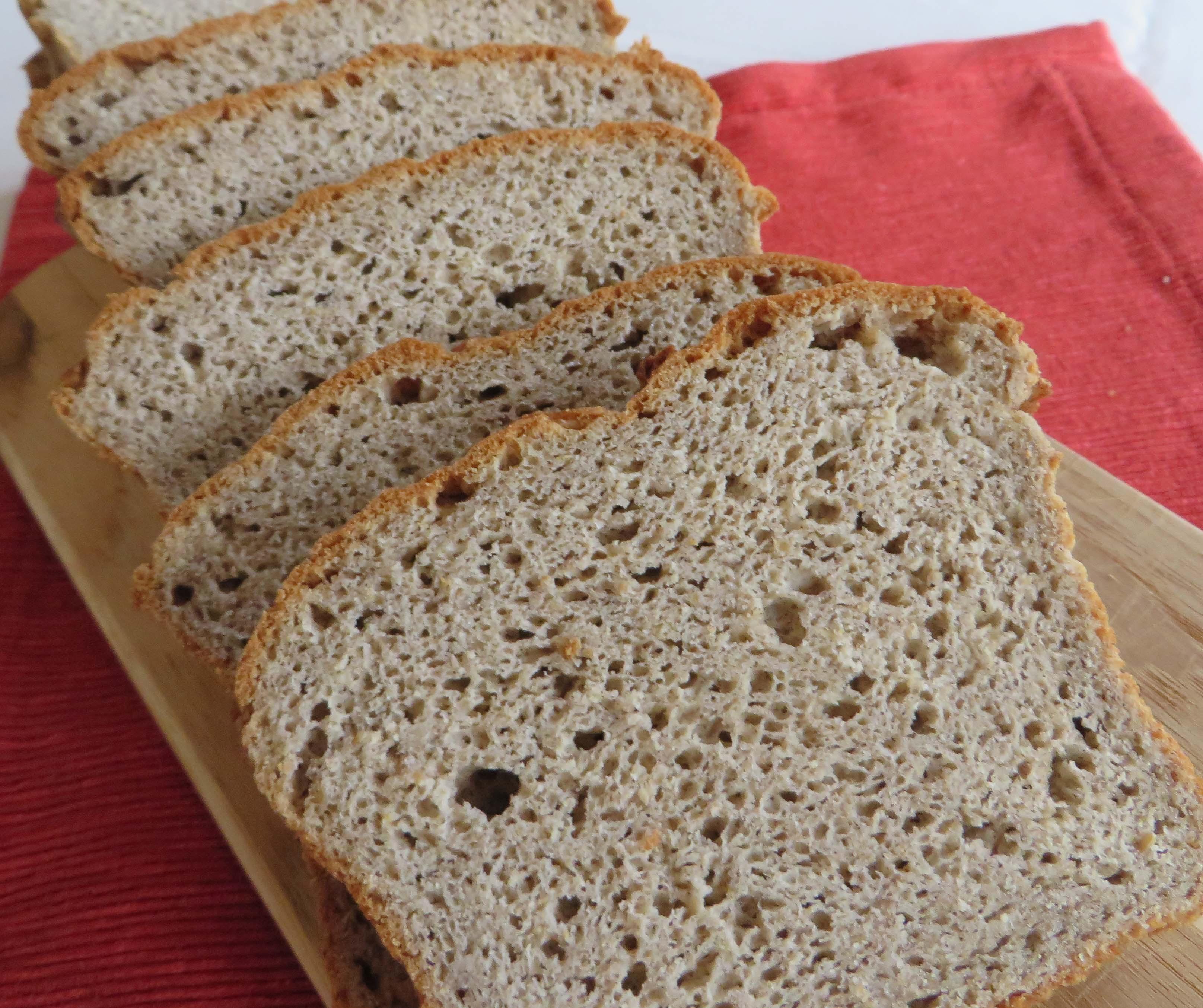 High Fiber Bread Recipe  Multi Grain High Fiber GF Bread