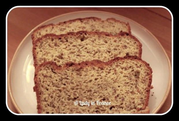High Fiber Bread Recipe  Gluten Free High Fiber Bread Recipe A Lady In France