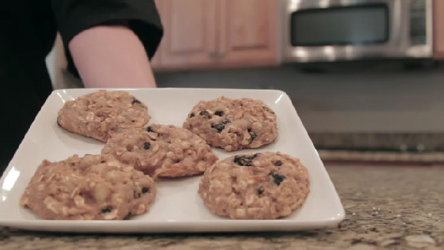 High Fiber Breakfast Recipe  Video Healthy High Fiber Breakfast Cookie Recipe