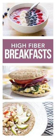 High Fiber Breakfast Recipe  1000 images about Recipes Breakfast on Pinterest