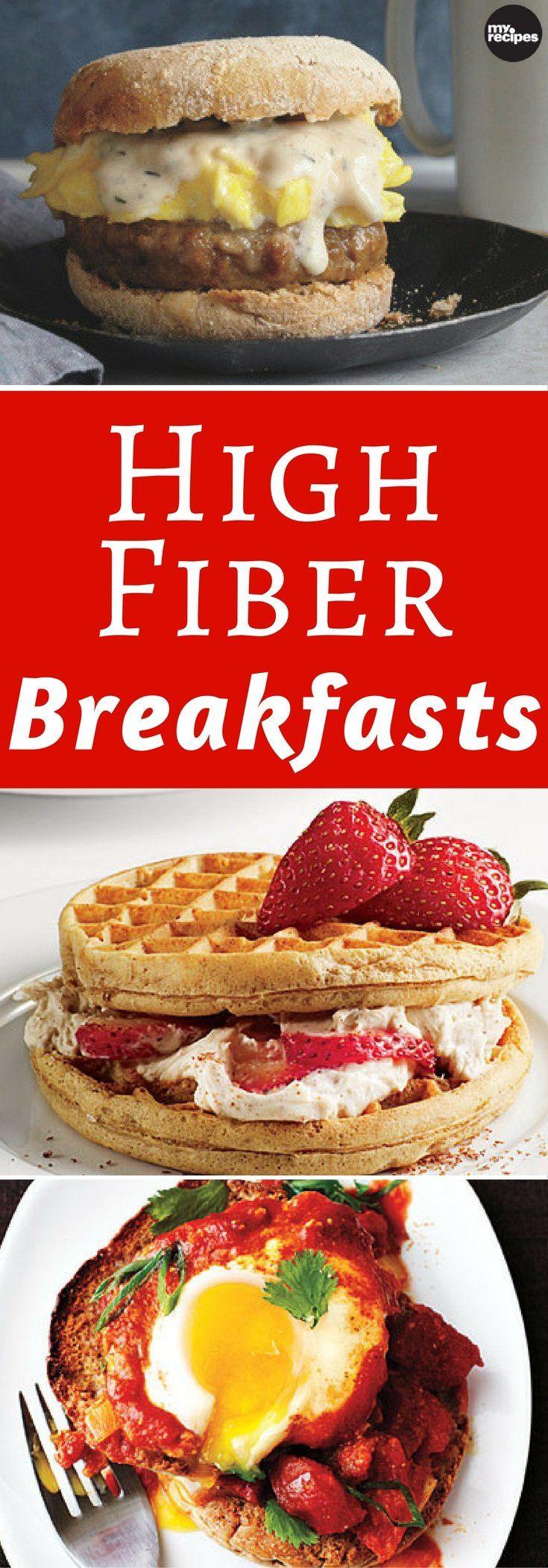 High Fiber Breakfast Recipes  366 best Breakfast and Brunch images on Pinterest