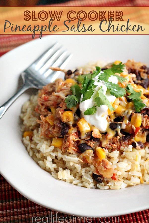 High Fiber Chicken Recipes  High Fiber and Protein Dinner Ideas Real Life Dinner