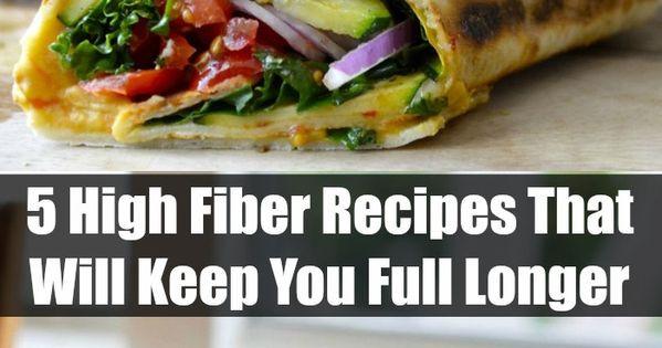 High Fiber Chicken Recipes  5 High Fiber Recipes That Will Keep You Full Longer