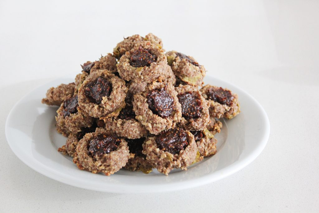 High Fiber Cookie Recipes  High Fiber 'Jam' & Thumbprint Cookies