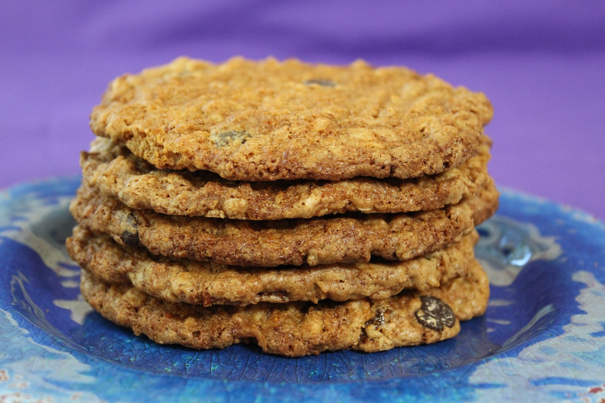 High Fiber Cookie Recipes  High Fiber Cookies with Dried Figs