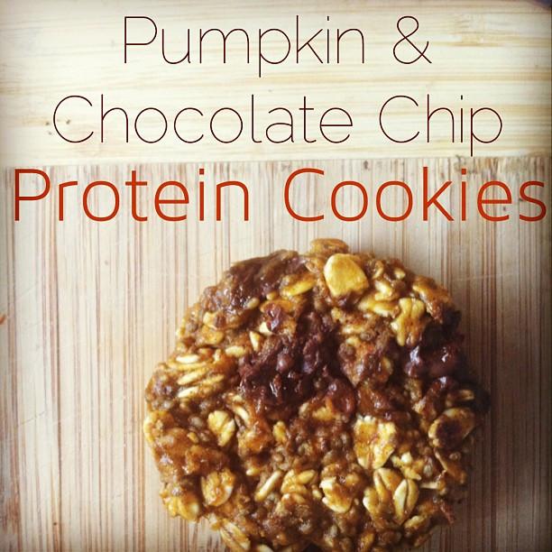 High Fiber Cookie Recipes  Protein Pumpkin Cookies high protein high fiber cookie