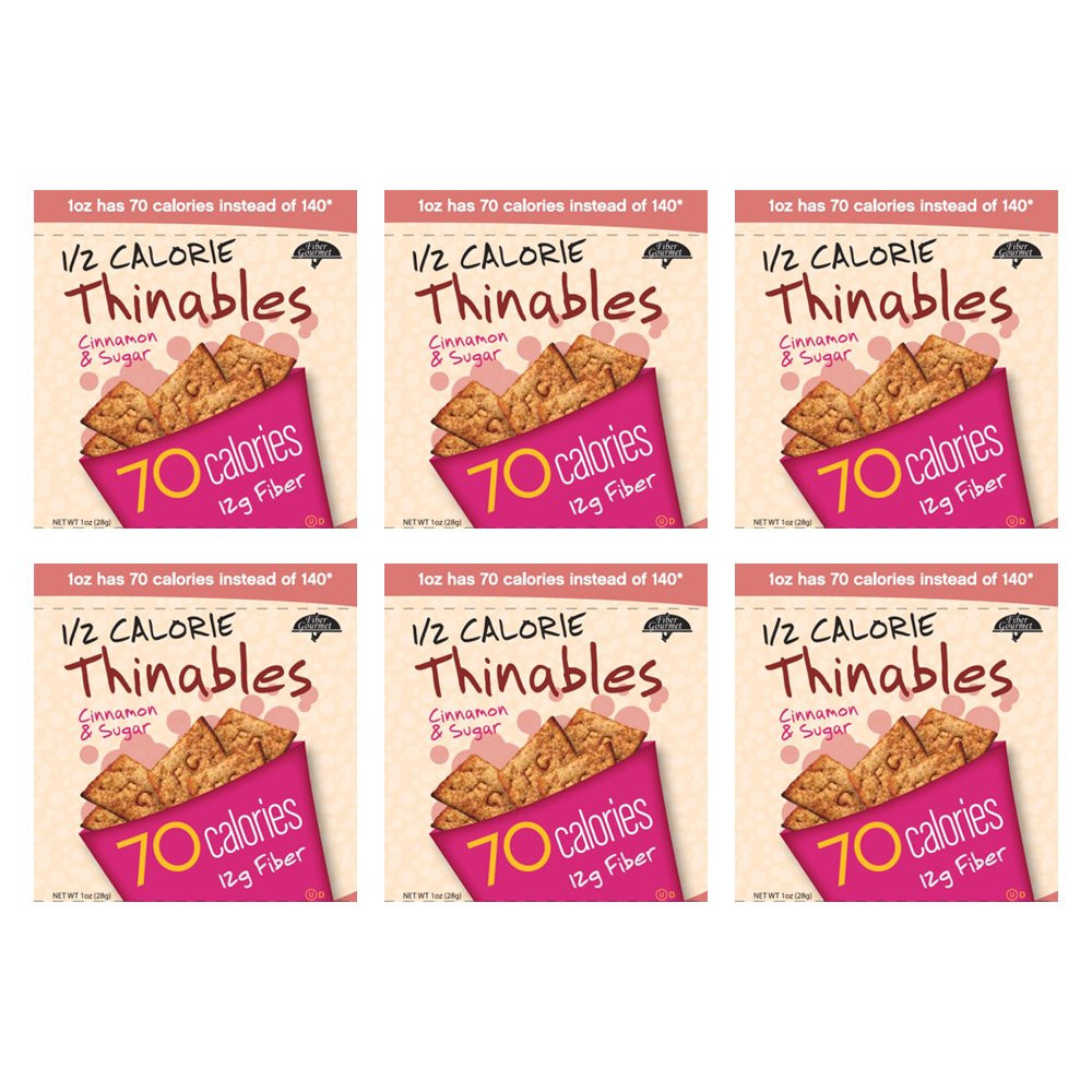 High Fiber Crackers  Amazon Fiber Gourmet Crackers Cheese Thinables 6 Ounce