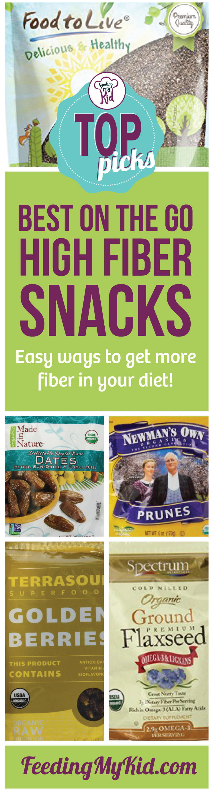 High Fiber Crackers  High Fiber Snacks Our Top Picks For Snacks on the Go