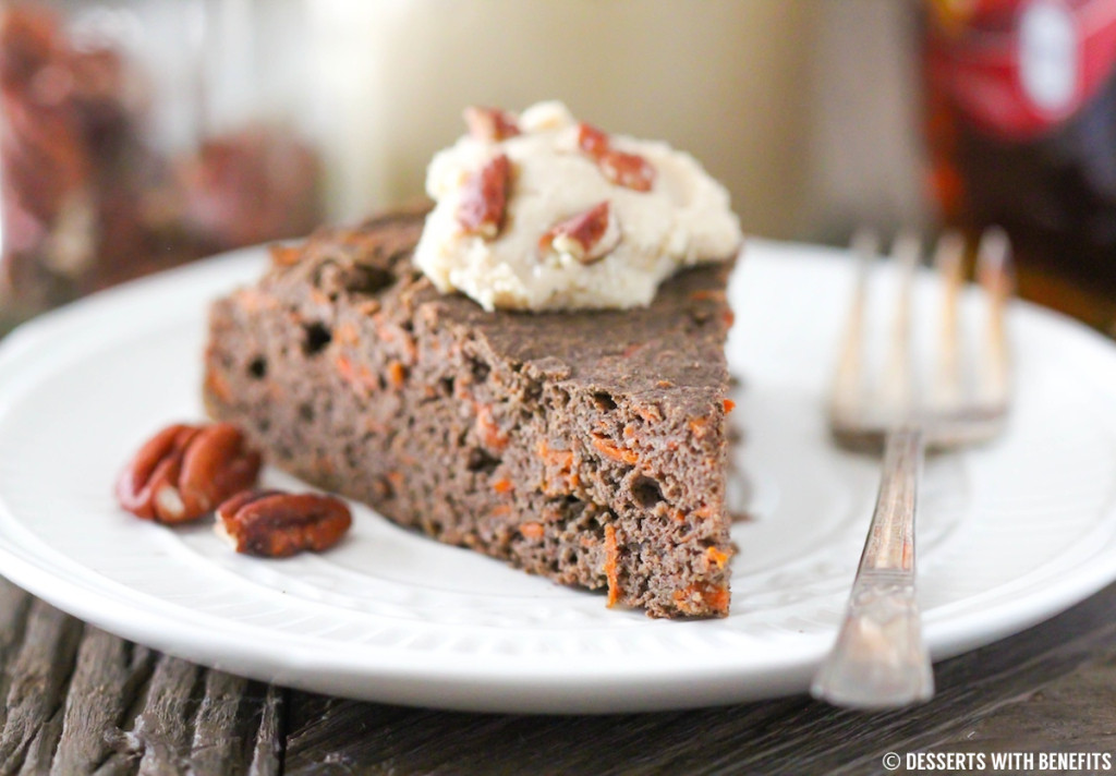 High Fiber Desserts  Healthy Buckwheat Carrot Cake Desserts with Benefits