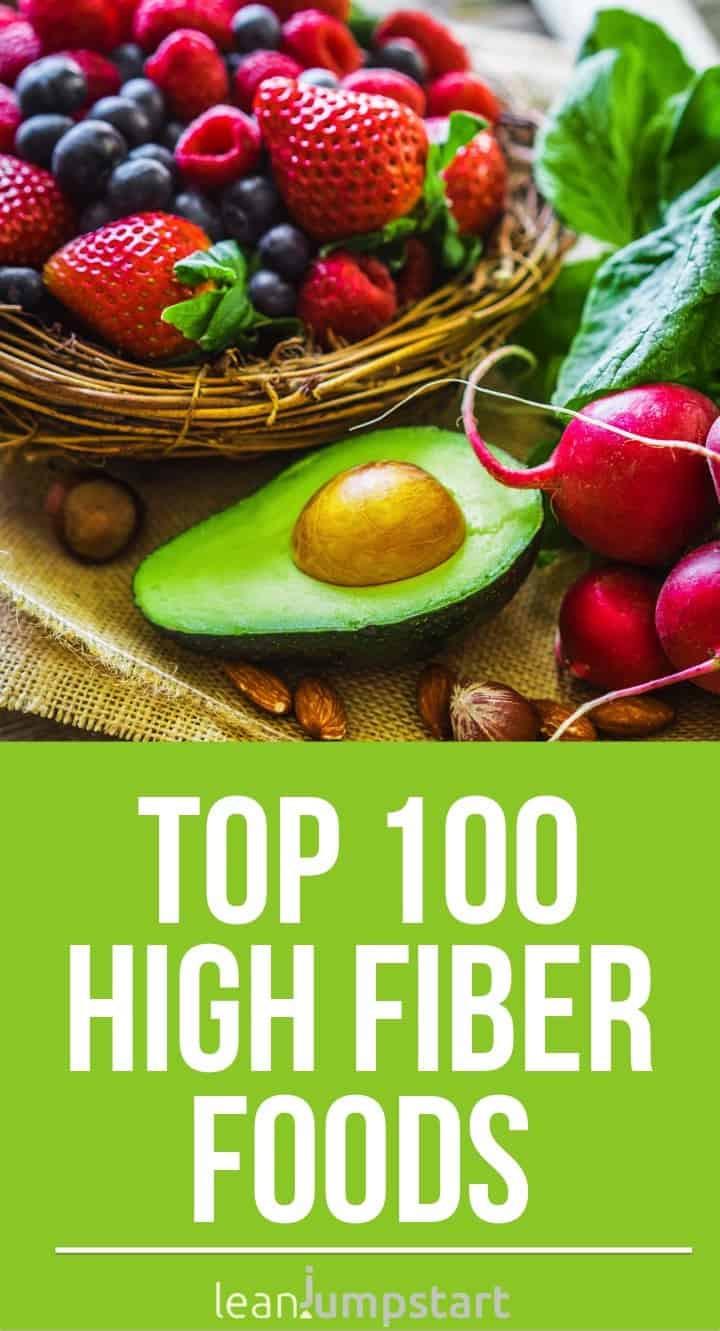 High Fiber Diet Recipes  100 top high fiber foods you should eat