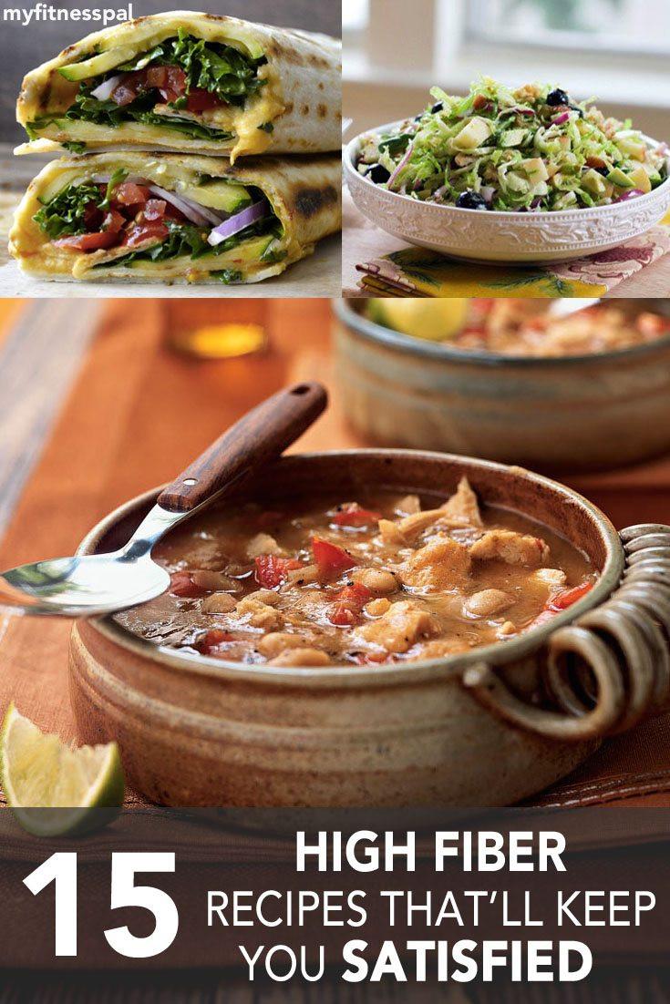 High Fiber Low Carb Recipes  High Fiber Low Fat Meals Woman