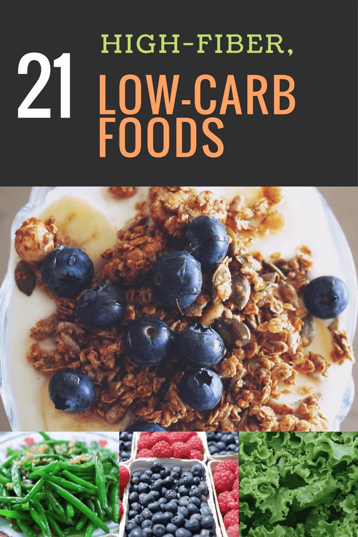 High Fiber Low Carb Recipes  21 Ultimate High Fiber Low Carb Foods
