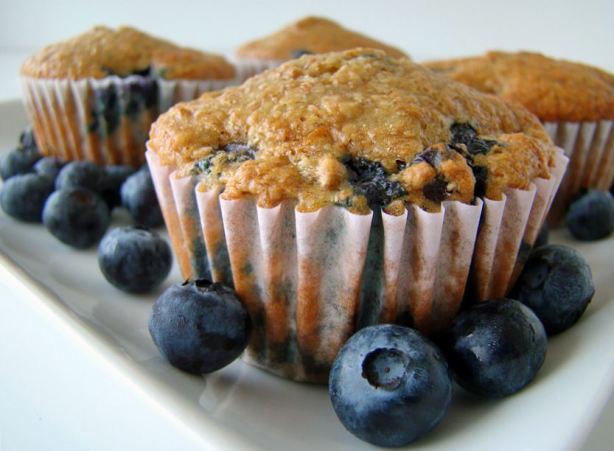 High Fiber Muffin Recipes  Low Fat High Fiber Blueberry Bran Muffins Recipe Food