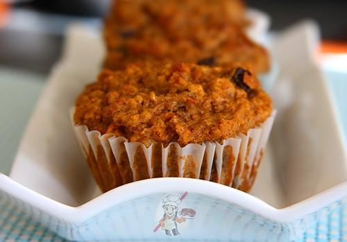 High Fiber Muffin Recipes  High Fiber Carrot Bran Muffins Recipe