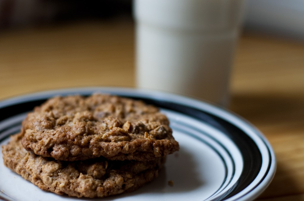 High Fiber Oatmeal Cookies  High Fiber Oatmeal Cookies