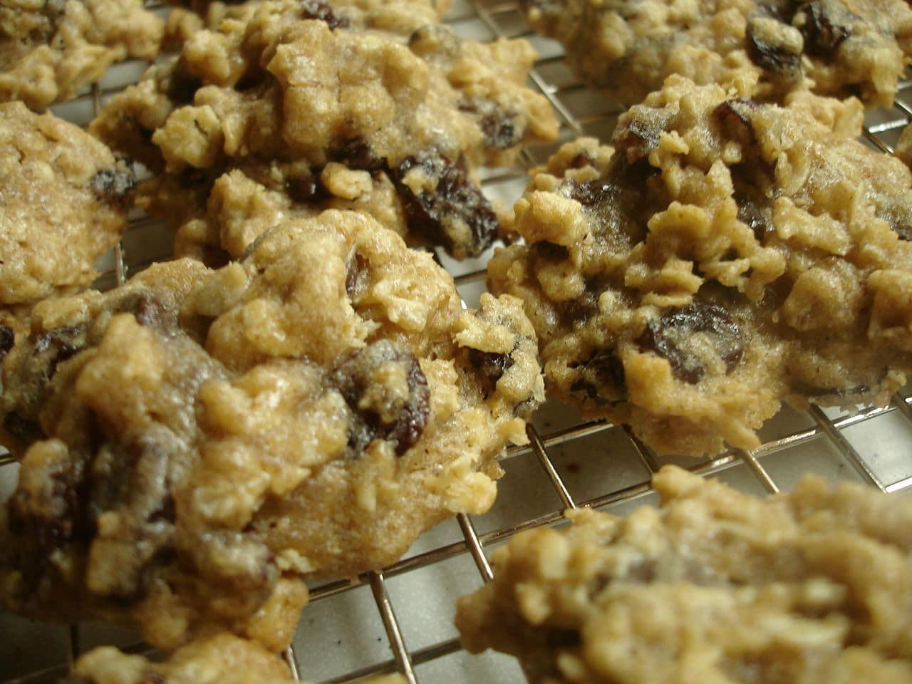 High Fiber Oatmeal Cookies  Food Fiber Types of Fiber Properties and Benefits