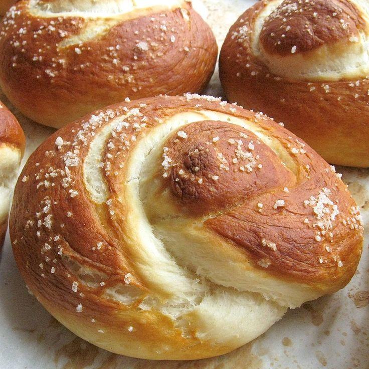 High Fiber Pretzels  KAF high fiber pretzel rolls random foodness