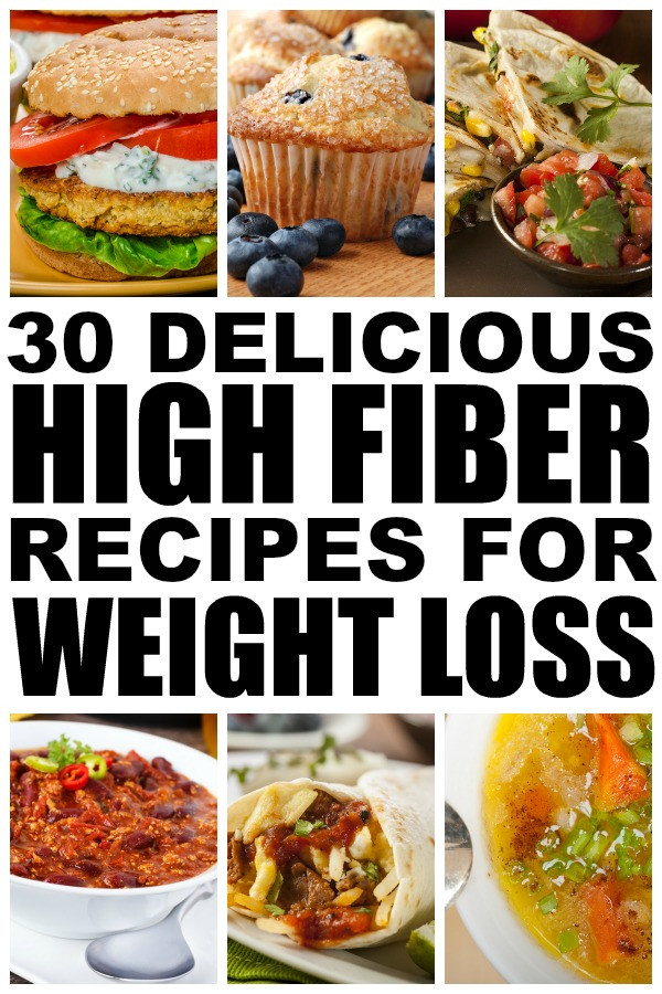 High Fiber Recipes For Lunch  30 high fiber meals for weight loss