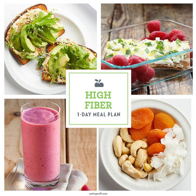 High Fiber Recipes For Weight Loss  1 Day High Fiber Weight Loss Meal Plan EatingWell