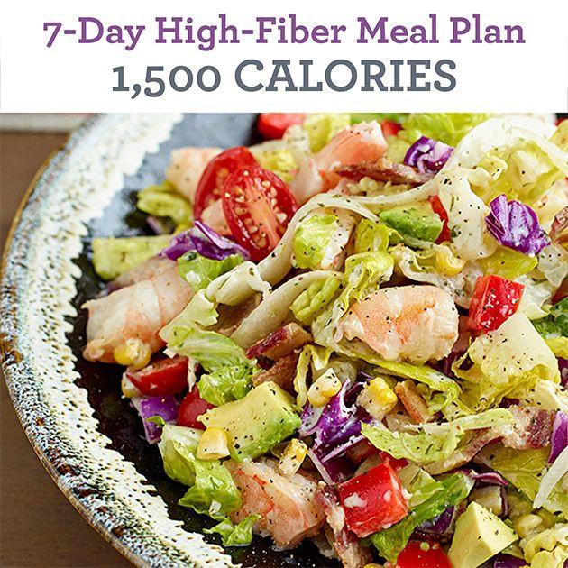 High Fiber Recipes For Weight Loss  The 25 best High fiber meal plan ideas on Pinterest