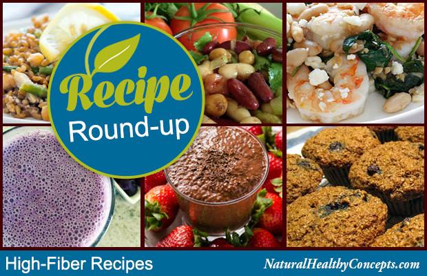 High Fiber Recipes  Rough and Ready High Fiber Recipes Healthy Concepts with