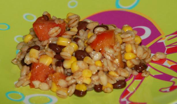 High Fiber Side Dishes  Southwest Barley Salad High Fiber Side Dish