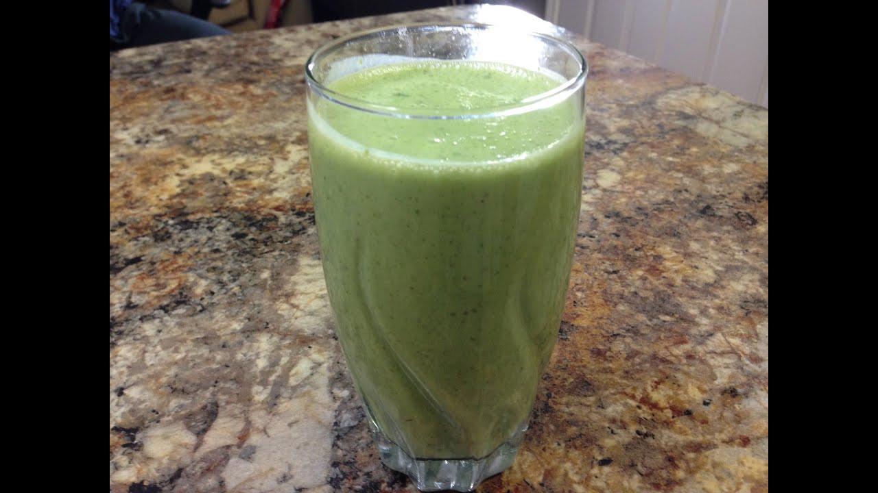 High Fiber Smoothie Recipes  Kale Smoothie Recipe HASfit Green Smoothie Recipes