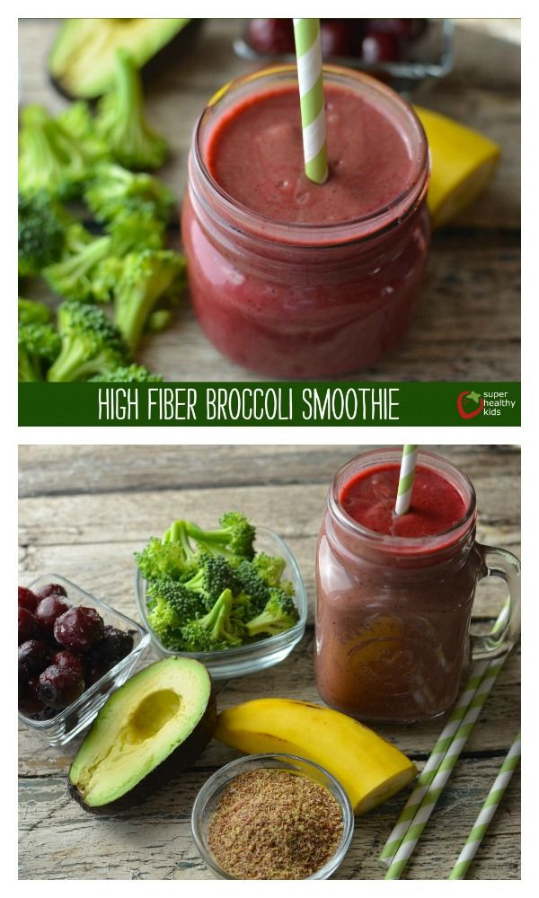 High Fiber Smoothie Recipes Weight Loss  17 Best ideas about Broccoli Smoothie on Pinterest