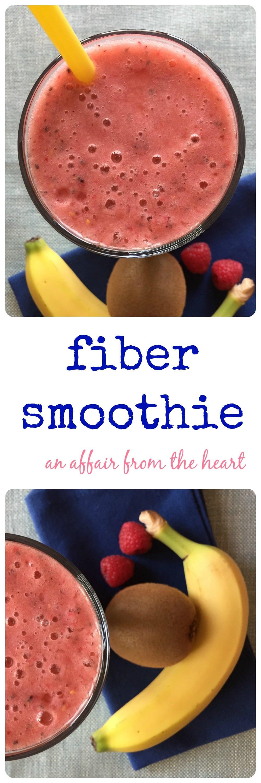 High Fiber Smoothies For Constipation  Fiber Smoothie