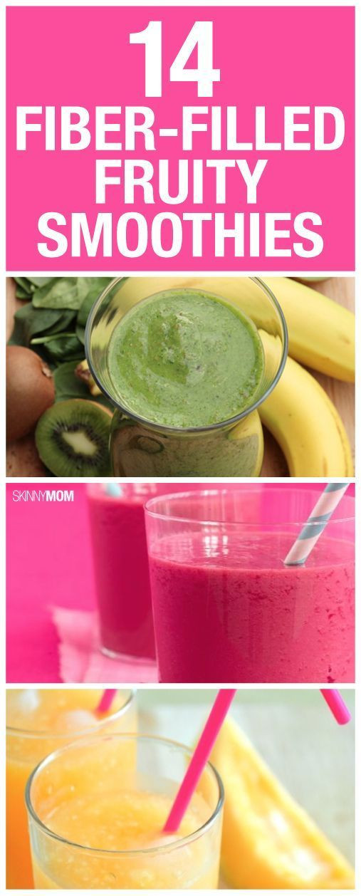 High Fiber Smoothies For Constipation  14 Fiber Filled Fruity Smoothies