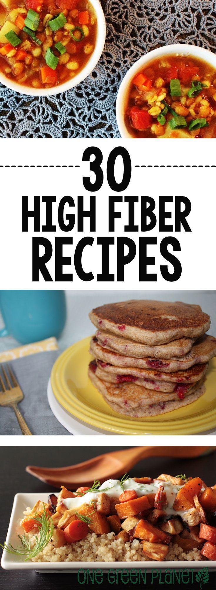 High Fiber Vegetarian Recipes  30 Vegan High Fiber Recipes to Keep Your System Moving