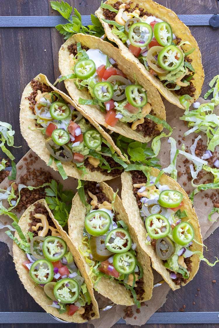 High Protein Low Calorie Vegan Recipes  High Protein Low Fat Vegan Taco Meat Veggies Don t Bite
