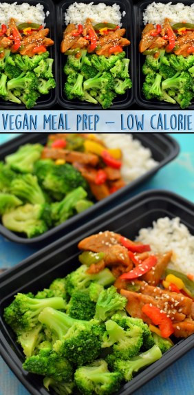 High Protein Low Calorie Vegetarian  Vegan Meal Prep – Low Calorie – Rich Bitch Cooking