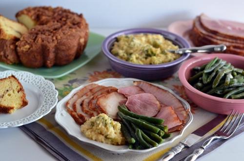 Honeybaked Ham Easter Dinner  Celebrating Easter Dinner with HoneyBaked Ham