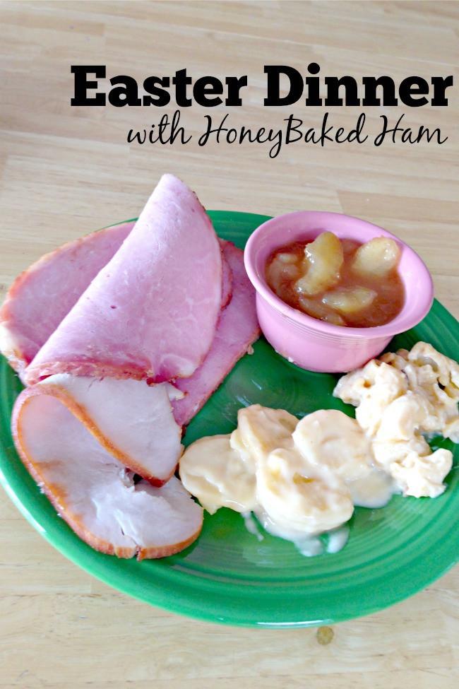 Honeybaked Ham Easter Dinner  HoneyBaked Ham is DELICIOUS