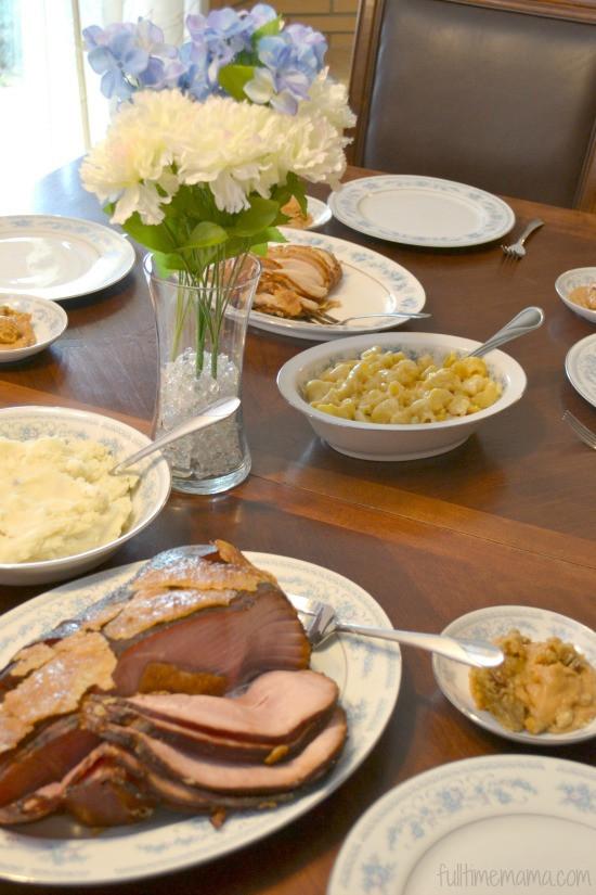 Honeybaked Ham Easter Dinner  Easter Dinner Made Easy Plus Tips on Making Easter Stress