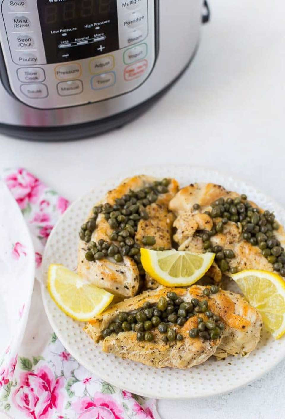Instant Pot Chicken Recipes Healthy  Healthy Instant Pot Chicken Recipes Two Healthy Kitchens