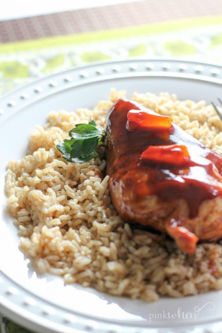 Instant Pot Chicken Recipes Healthy  Easy Healthy Instant Pot Hawaiian Chicken Recipe