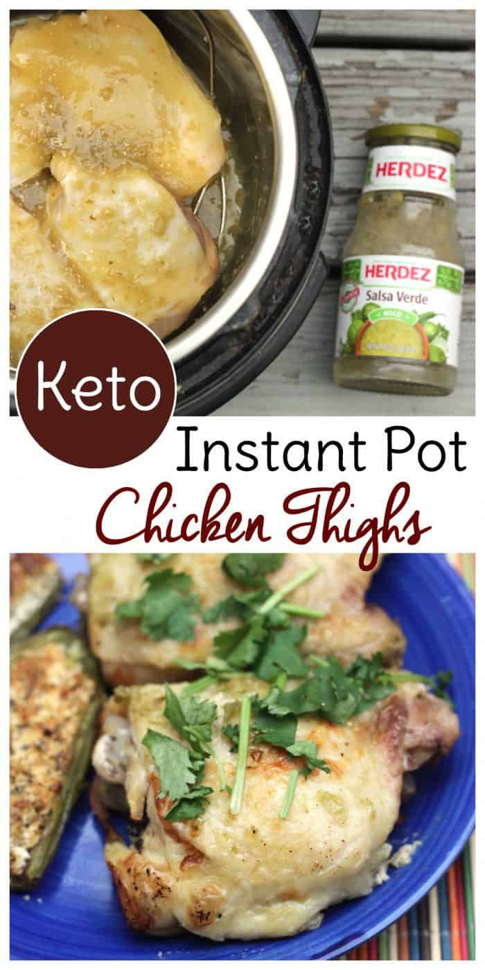 Instant Pot Chicken Thighs Keto  Keto Instant Pot Chicken Thighs Done in 30 Minutes