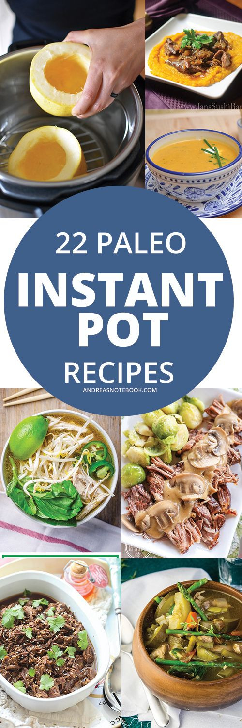 Instant Pot Low Calorie Recipes  22 Paleo Recipes for the Instant Pot or pressure cooker