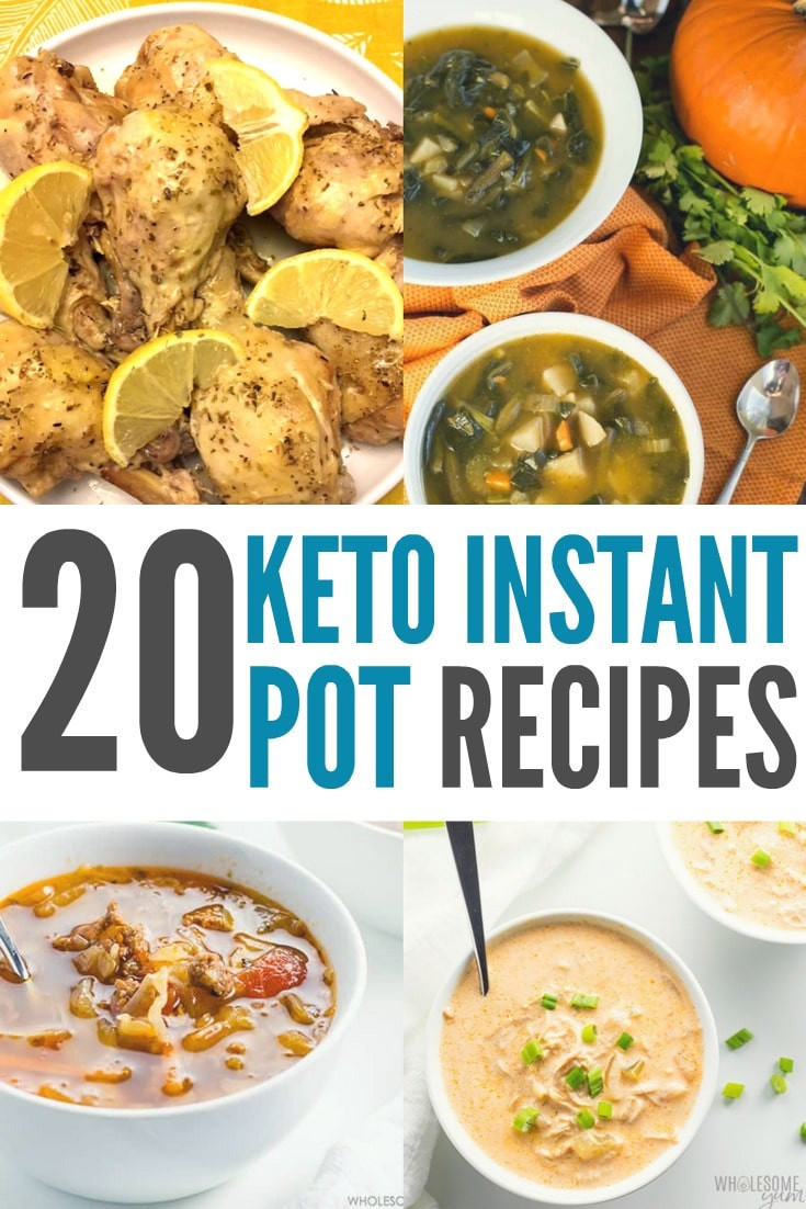 Instant Pot Low Calorie Recipes  Keto Instant Pot Recipes High Fat & Low Carb Recipes