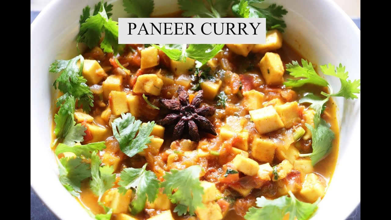 Instant Pot Vegetarian Recipes Indian  Paneer Curry in Instant pot Indian Ve arian Recipes